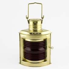 Port Navigation Electric Lamp, brass, 21cm