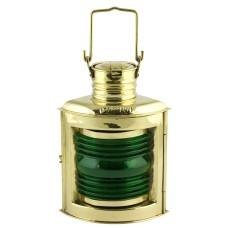 Starboard Navigation Electric Lamp, brass, 21cm