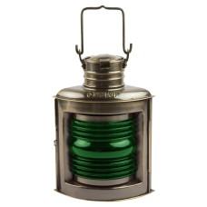 Starboard Navigation Lamp, antique, 21cm