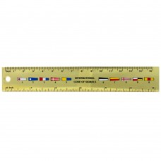 Pennants Brass Ruler 15cm