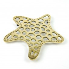 Brass Starfish Trivet