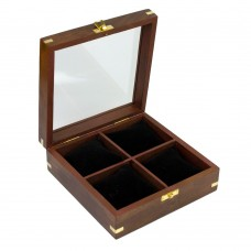 Watch Display Case with 4 Cushions