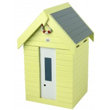 Beach Hut Storage Box, yellow, 20cm
