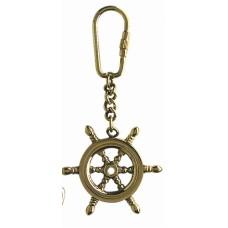 Ship's Wheel Keyring