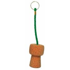 Champagne Cork Keyring