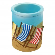 Deck Chairs Pen Pot, 9cm