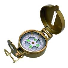 Brassed Bearing Compass