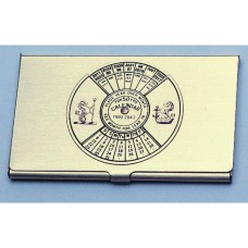 50-year Calendar Business Card Case