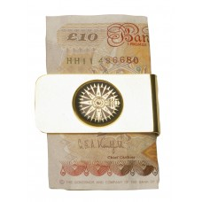 Compass Rose Money Clip