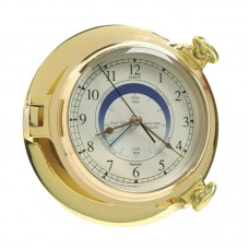 Brass Bridge Tide Clock, 18cm
