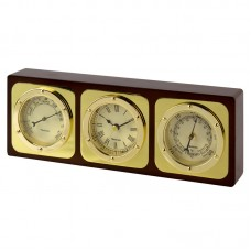 Time & Weather Set: Clock/Barometer/Thermometer, 23cm