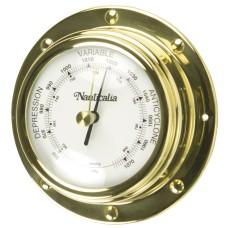 Brass Rivet-style Barometer, 10cm