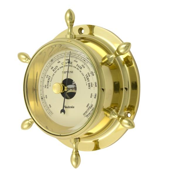 Brass Neptune Barometer