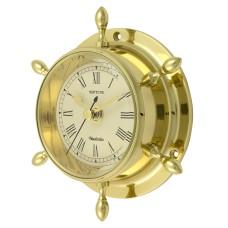Brass Neptune Clock