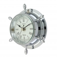 Chrome Neptune Clock