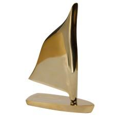 Brass Sailing Boat, 18x12cm