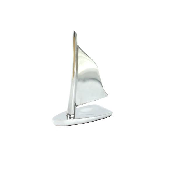 Aluminium Sailing Boat, 15x10cm