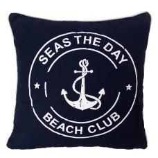"""""""Seas the Day"""" Cushion, 40cm"""