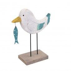 Seagull with Spotty Fish, 16cm