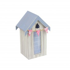 Beach Hut Money Box (Yacht), 16cm