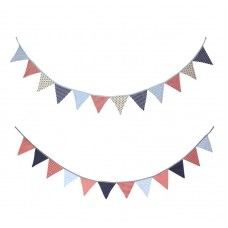 Spots/Stars/Stripes Bunting, 2m, 2 assorted