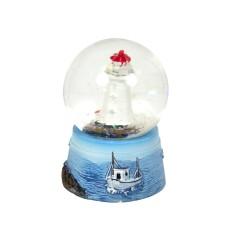 Lighthouse Snowglobe, 4cm