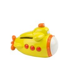 Yellow Submarine Money Box, 10cm