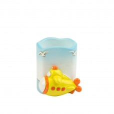 Yellow Submarine Pen Pot, 6cm