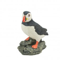 Puffin on Rock, 15cm
