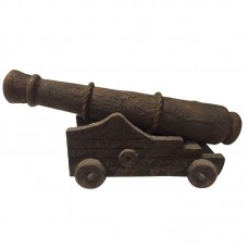 Rust-effect Ship's Cannon, 28cm