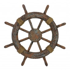 Rustic Ship's Wheel, 46cm
