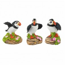 Puffins, 5cm, 3 assorted