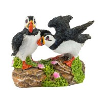 Puffins (2) on Rock, 5cm