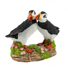 Puffins (2) on Rock, 8cm
