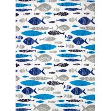 Shoal Tea Towel, 71x51cm