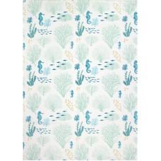 Coral Tea Towel, 71x51cm