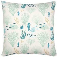 Coral Cushion & Inner, 40cm