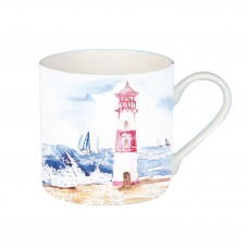 Coastal Mug with Lighthouse, 425ml