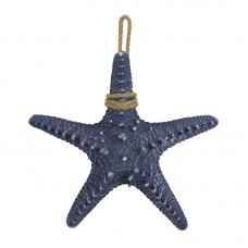 Hanging Starfish, blue, 30cm