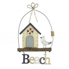 "Beach Hut ""Beach"" Hanging, 25cm"