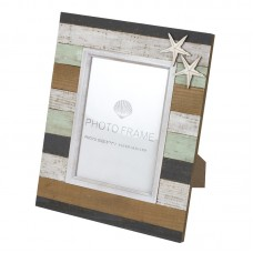 Wooden Plank-style Photo Frame, 27x23cm