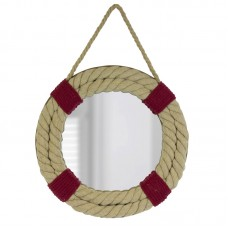 Mirror with Rope Life Ring, 32cm