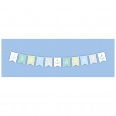 "Wooden ""Sail Away"" Bunting, 140cm"