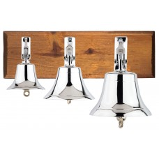 Ship's Bell, chrome-plated, 6