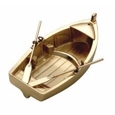 Brass Rowing Boat Tealight Holder