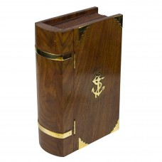 Naval-style Book Box with Latch