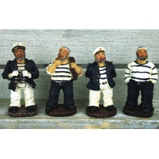 Sailors, 10cm, 4 assorted