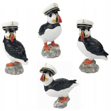 Puffin Captains, 9cm, 4 assorted