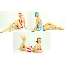Beach Ladies, 23cm, 3 assorted