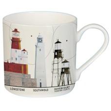 East Coast Lighthouses Mug